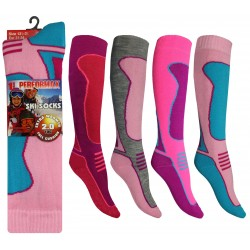 Girls 12-3 Performax Ski Socks