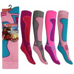 Girls 12-3 Performax Ski Socks