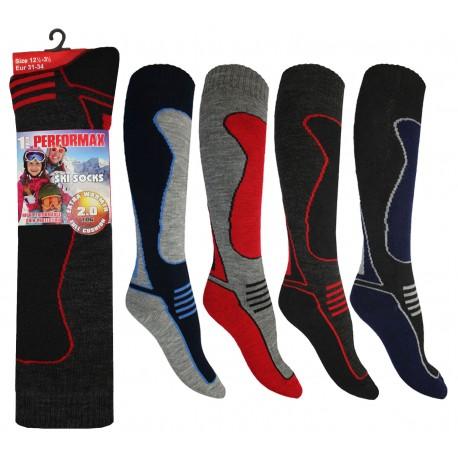 Boys 12-3 Performax Ski Socks