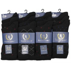 Mens 6-11 Ralph Lewis Coloured Suit Everyday Socks