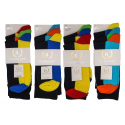Mens 6-11 Ralph Lewis Footbed Everyday Socks