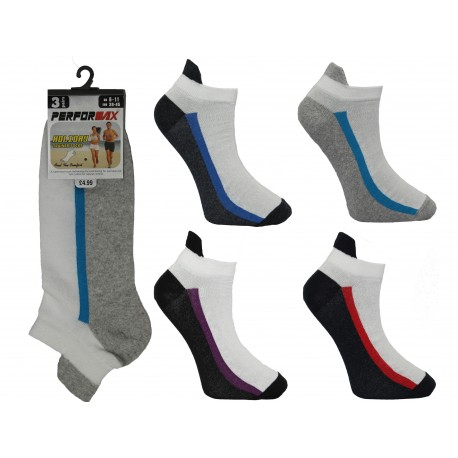 Mens 6-11 Performax One Line Trainer Socks