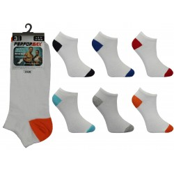Mens 6-11 Performax Colour H&T Trainer Socks
