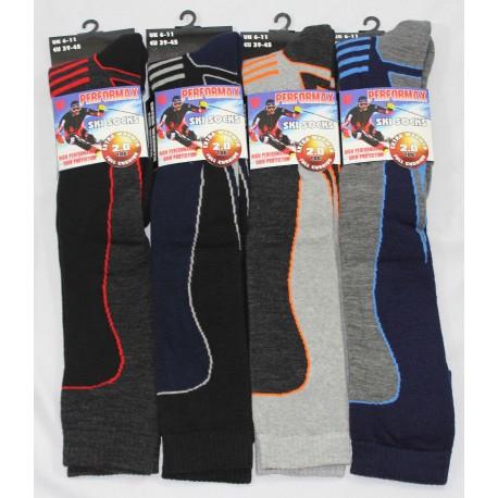 Mens 6-11 Performax Ski Socks