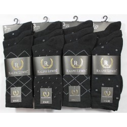 Mens 6-11 Ralph Lewis Suit Everyday Socks