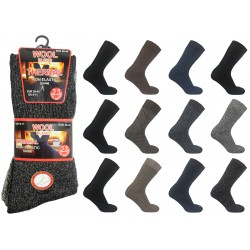 Mens 6-11 Non Elastic Thermal Wool 2.3 TOG Rated Socks