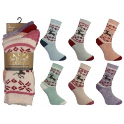 Ladies 4-7 Ralph Lewis Thermal Wool Socks