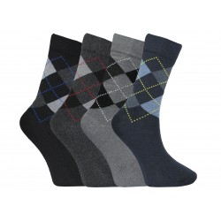 Mens 6-11 Argyle Everyday Socks