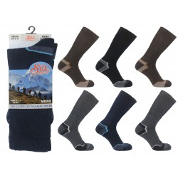 Mens 6-11 Wool Blend Thermal Socks