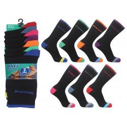 Mens 6-11 Days Of The Week Socks 7 Pair Pack
