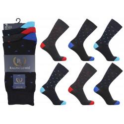 Mens 6-11 Ralph Lewis Triangle Everyday Socks